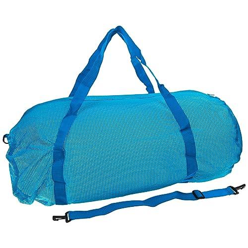 a8b7a4e731e0 Sportime Oversized Mesh Duffel Bag - 36 x 15 inches - Blue