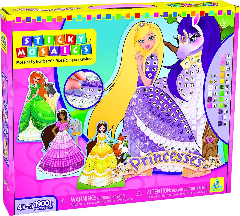 Orb Factory orb72292 – Freizeit Kreative – Prinzessinnen – Sticky MOSAIQUES Selbstklebende den Nummern B00RY0V80A | Won hoch geschätzt und weithin vertraut im in- und Ausland vertraut