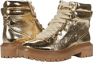 حذاء السيرك من سام إيديلمان للنساء فلورا منتصف الساق، ذهبي، 5
