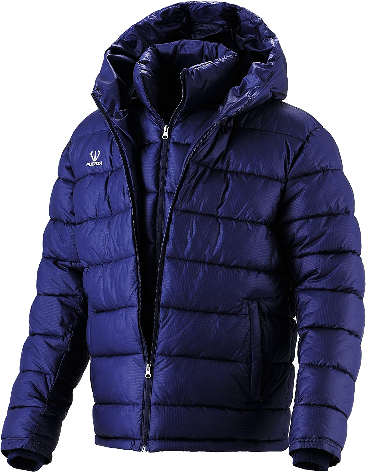 Fuerza Philadelphia Mall Mens Winter Down Wellon Max 74% OFF Hooded Layer Pa Collection Double