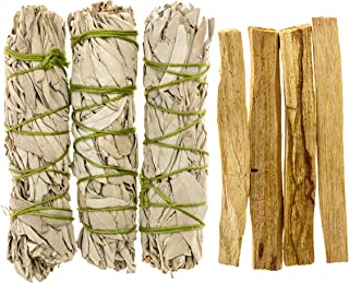 Alternative Imagination California White Sage and Palo Santo Refill Pack. Comes with 3 Sage and 4 Palo Santo