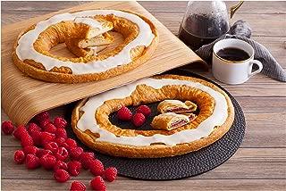 Danish Kringle Pair - Cream Cheesecake & Raspberry