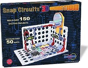 Snap Circuits iluminación 3D Electronics Kit de Descubrimiento–Nuevo para 2016