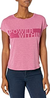 Jockey Women's Power Inspirational Burnout Tees