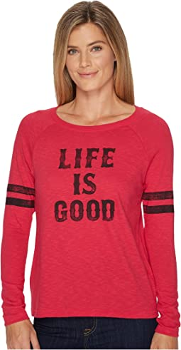 Life is Good Life is Good® Long Sleeve Vintage Sport Tee