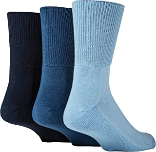IOMI Footnurse - 3 Pack Unisex Extra Wide Bamboo Diabetic So