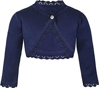 childrens navy bolero cardigan