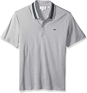 1c79d2ae Lacoste Men's Short Sleeve Pima Reg Fit Contrast Collar Polo