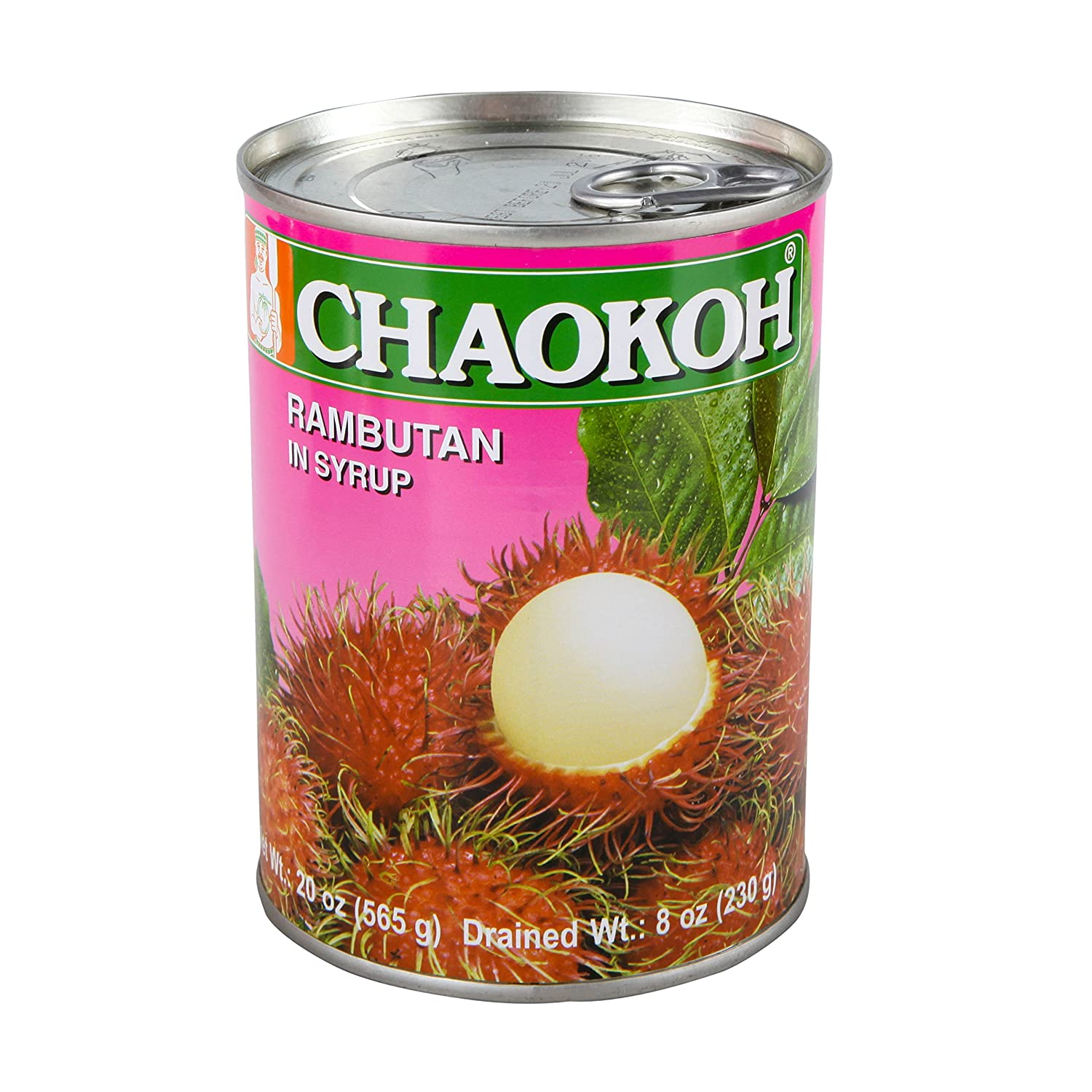 Chaokoh Same day shipping Rambutan Award-winning store in Syrup 20 Pack of24 Ounce