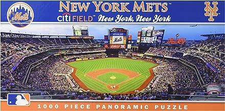 MasterPieces MLB New York Mets Stadium Panoramic Jigsaw Puzzle, Citi Field, 1000 Pieces