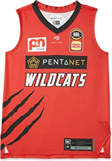First Ever Kids Perth Wildcats V Neck Home Youth Authentic Jersey