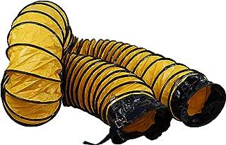 MOUNTO 25FT PVC Flexible Duct Hosing for Exhaust Fan (12inch w/o Bag)