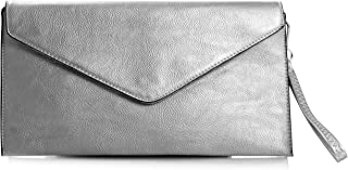 81f05770b6d Amazon.co.uk: Silver - Wristlets / Women's Handbags: Shoes & Bags