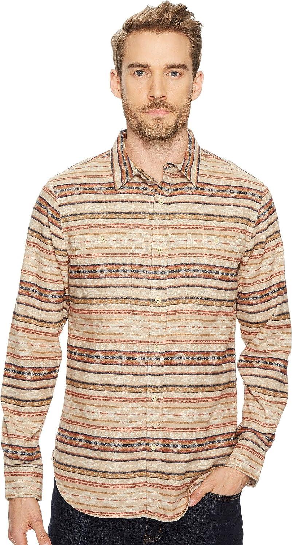 Lucky Brand Sierra Workwear Shirt Natural Multi