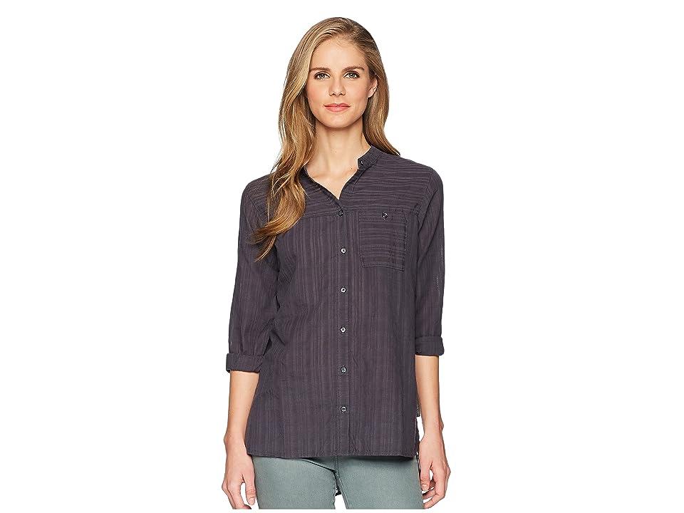 ExOfficio BugsAway(r) Collette Long Sleeve Shirt (Carbon) Women