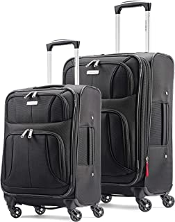 Aspire Xlite Softside Expandable Luggage with Spinner...