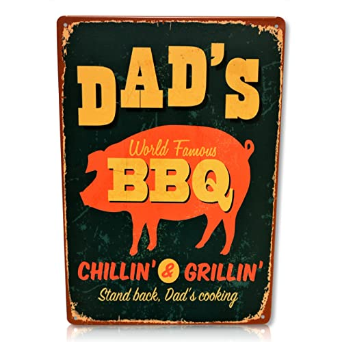 39ab19a5cdb Dad s BBQ Sign Retro Vintage BBQ Decor Perfect for your Home