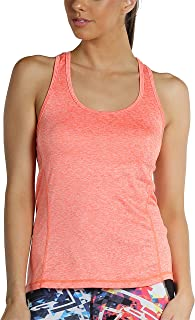 icyzone Workout Tank Tops for Women - Racerback Athletic Yoga Tops, Running Exercise Gym Shirts