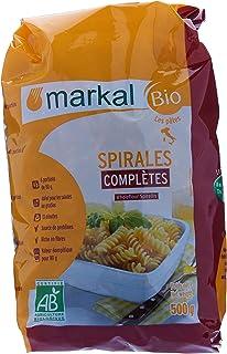 Organic Whole Flour Spirelli by Markal ,500gm