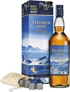 Talisker Skye Single Malt Whisky Geschenkpackung mit Whisky Steinen