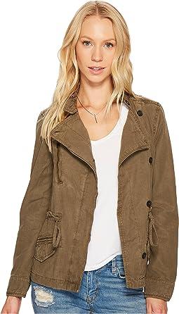 Lucky Brand - Asymmetrical Military Jacket