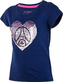 fe5cb64b702 PARIS SAINT GERMAIN T-Shirt PSG Fille - Collection Officielle Taille Enfant