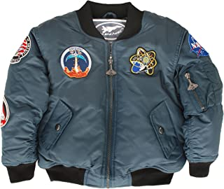 Up and Away Boys' NASA Space Shuttle Jacket