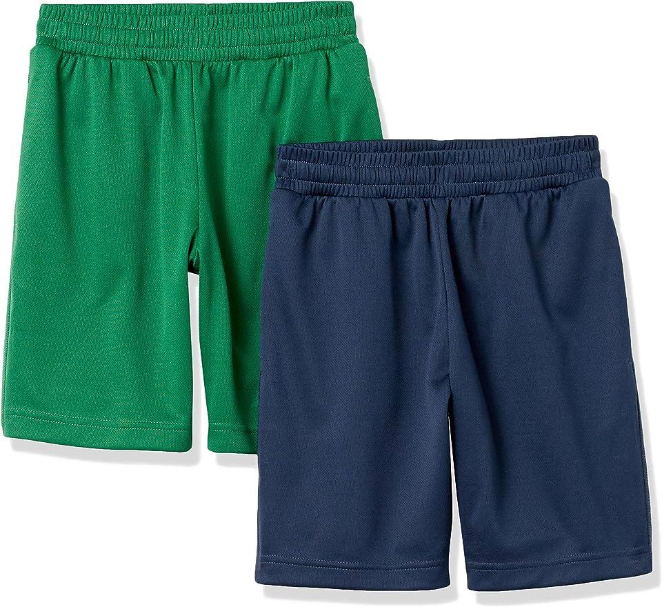 Amazon Essentials Boys' Active Performance Mesh Basketball Shorts