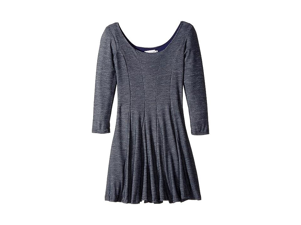 fiveloaves twofish Traveler Dress (Little Kids/Big Kids) (Denim) Girl