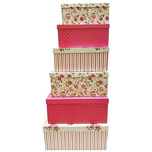 Decorative Gift Boxes Amazon Com