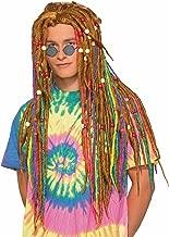 Forum Men's Generation Hippie Rainbow Dreads Wig