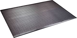 SuperMats High Density Commercial Grade Solid Equipment Mat 24GS Made in U.S.A. for Home Gyms CrossFit Training Flooring Weight Benches, Weightlifting Equipment and General Flooring and Equipment Mat Needs (4 Feet x 6 Feet) (48 x 72) (121.9 cm x 182.9 cm)