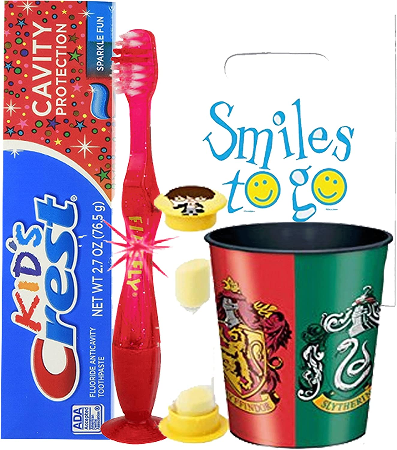 Harry Potter Inspired 4pc Bright Max 64% OFF Smile Hygiene Ligh Oral Bundle Max 90% OFF