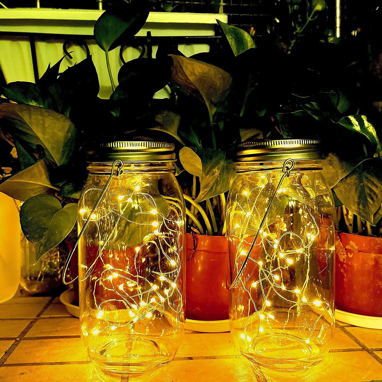 Solar Fairy Jar Lights