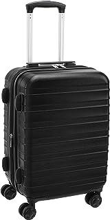 Amazon Basics Valise rigide et solide, de qualité supérieure, 56cm - Noir