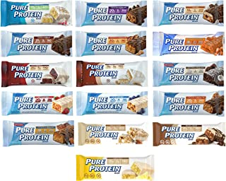 Pure Protein Bars, High Protein, Nutritious Snacks to Support Energy, Low Sugar, Gluten..