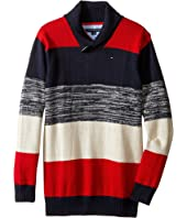Tommy Hilfiger Kids - Ron Shawl Sweater (Big Kids)