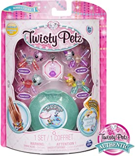 Twisty Petz - Babies 4-Pack Kitties and Unicorns Collectible Bracelet Set for Kids
