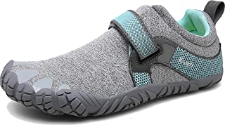 Voovix Men's Minimalist Trail Running Barefoot Shoes Wide Women's Cross-Trainer Shoe Wide Toes Box