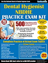 NBDHE Dental Hygienist Practice Exam Plus Flash Card Study System, Testing Tips & Review