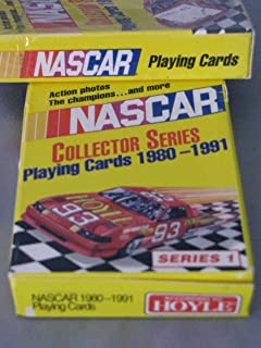 Nascar Playing Cards