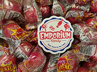 Atomic Fireballs - 2 lbs of Delicious Assorted Bulk Wrapped Spicy Cinnamon Candy with Refrigerator Magnet