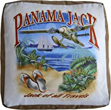 Panama Jack of All Travels Pouf Ottoman
