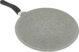 "Mopita 28cm/11"" Non-Stick Cast Aluminum Crepe Pan, Medium, Grey"