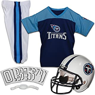 Franklin Sports Football Set Kids Uniform NFL Youth Costume Boys Girls Helmet Includes..