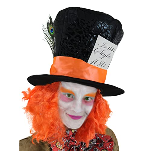 Mad Hatter Top Hat Amazon Co Uk