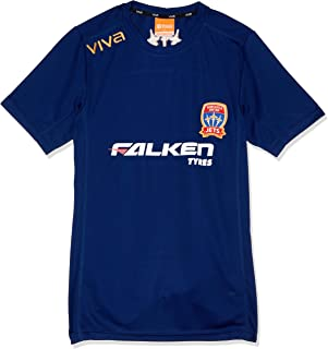 Viva Boys' Newcastle Jets Player Authentic Coaches Tee Junior
