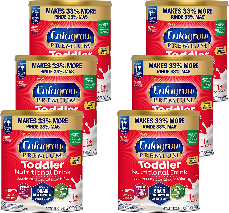Now on sale Enfagrow PREMIUM Toddler Mail order Nutritional Flavor Omeg Drink Vanilla