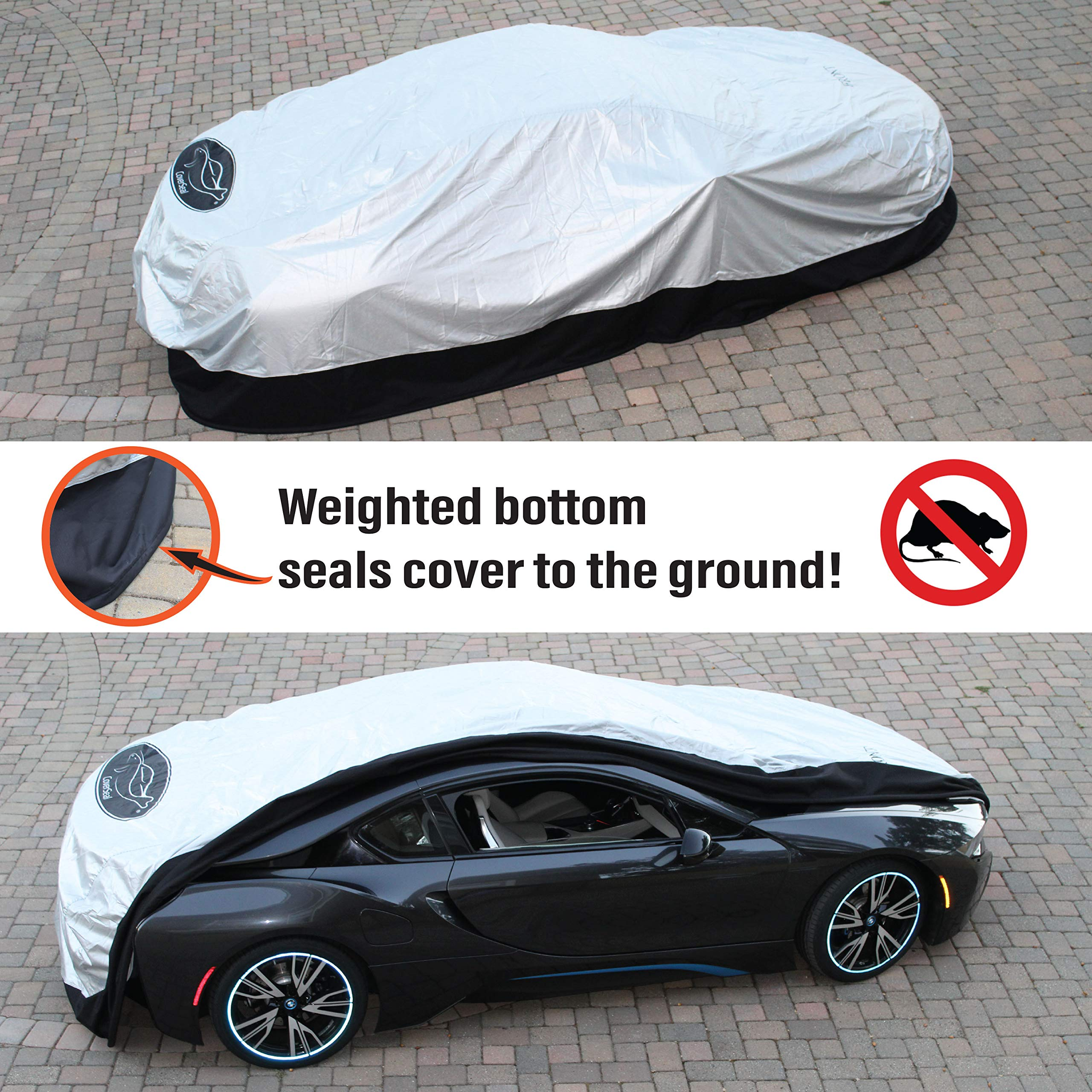 Covercraft Custom Fit Car Cover for Cadillac 70 Technalon Evolution Fabric Tan