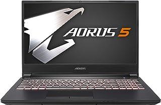 (アマゾン専売モデル)GIGABYTE AORUS 5 ゲーミングノートパソコン/15.6インチ/ 5mm狭額縁/ 144hz/日本語配列/Win10 (144HZ | GTX1650 Ti | i7-10750H | 8G*2 |512G SSD)